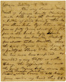 Affidavit Authorizing the Shipping and Sale of a Slave