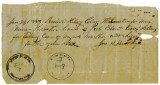 Receipt for Payments to Caretakers of Slaves - 1