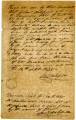 Bill of Sale for Male Slave, Forest, from Samuel Wakefield to John McDonald