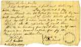 Contract for the Hiring, Care, and Feeding of Two Male Slaves, Milton and Aaron