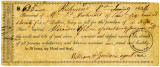 Bill of Sale for Male Slave, Alexander Wilson