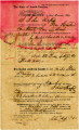 Bill of Sale for Male Slave (Prince)