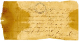 Promissory Note for the Balance Due for a Slave Woman (Lucy)
