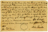 Bill of Sale to Thomas Cooke for 2 Slaves (Anthony) and (Harry)