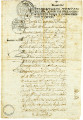 "Emancipation Document for a ""Negress"" Felicia"