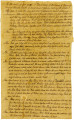 Last Will and Testament of Thomas Cooke