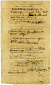 Bill of Sale for Male Slave (Billy)