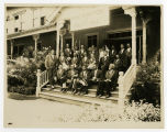 Unidentified Group of Members of The Most Worshipful Grand Lodge of Free and Accepted Masons for...