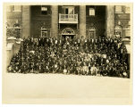 Group Photo of Men at the Tuskegee Institute