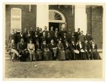 Group Photo with Booker T. Washington at Tuskegee Institute